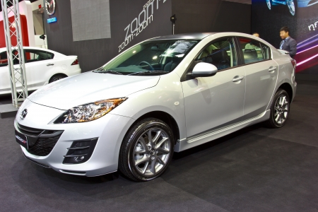Exceptional BANGKOK   JUNE 23 : NEW MAZDA 3 Show At The Second Bangkok International  Auto Salon