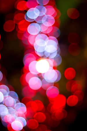 Red  bokeh  Abstract Christmas background photo