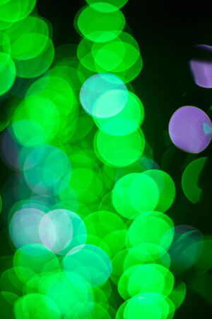 Green bokeh  Abstract Christmas background photo