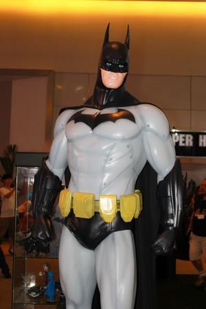 BANGKOK - MAY  11  A Batman model in Thailand Comic Con 2014 on May 11, 2014 at Siam Paragon, Bangkok, Thailand