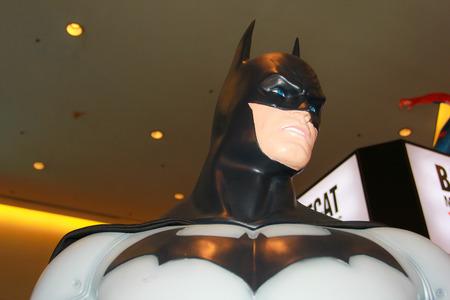 paragon: BANGKOK - MAY  11  A Batman model in Thailand Comic Con 2014 on May 11, 2014 at Siam Paragon, Bangkok, Thailand