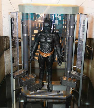 batman: BANGKOK - MAY  11  A Batman model in Thailand Comic Con 2014 on May 11, 2014 at Siam Paragon, Bangkok, Thailand