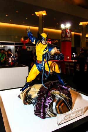 wolverine: Bangkok  May 2: A Wolverine model in Thailand Comic Con 2015 on May 2 2015 at Siam Paragon Bangkok Thailand. Editorial