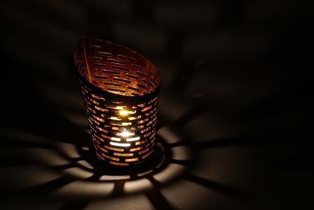luz de velas: lámpara luz de las velas