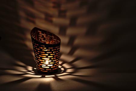 luz de vela: lámpara luz de las velas