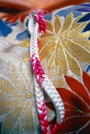 Japanese kimono detail