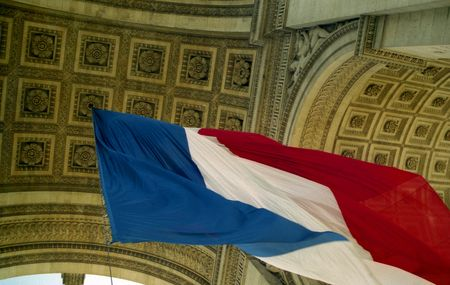 Vive La France Stock Photo