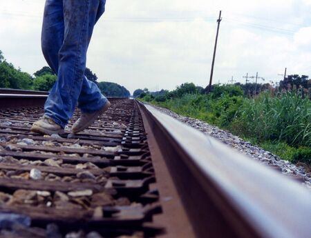Walking on the Train Tracks