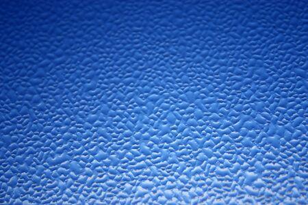 gradation: Waterdrop gradation from light to dark blue background Stock Photo