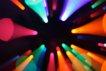 Colorful lights zoom