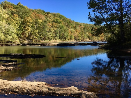 Calm Creek in early Autumn