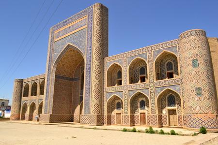 uzbekistan: Ancient Building in Uzbekistan Stock Photo