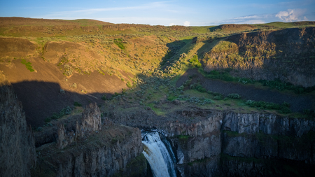 Upper Palouse Falls, late afternoon