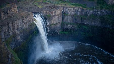 The Palouse Falls, evening