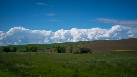 Cloud formation in the Palouse