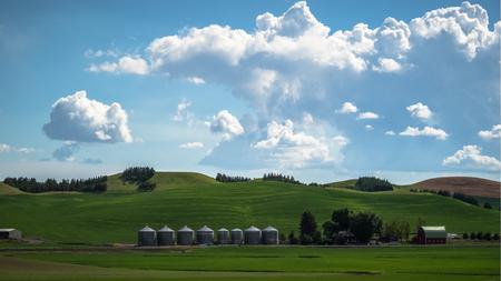 Farm on The Palouse