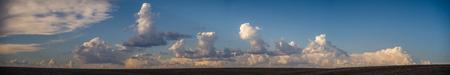 Panorama: Cumulonimbus clouds forming over The Palouse 写真素材 - 103041351
