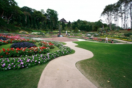 garden Mae Fah Luang Chiang Editorial