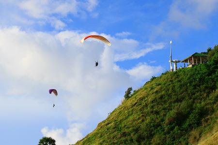 skydive:  skydive  paragliding Editorial