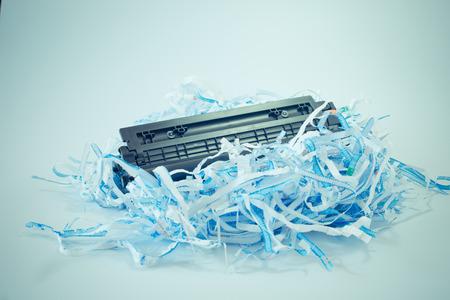 waste paper: residuos de papel, sin valor, Reciclaje