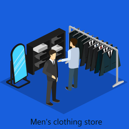 clothing store: mens clothing store