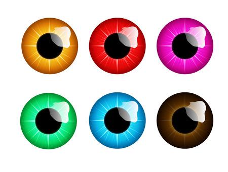 eye iris illustration Çizim