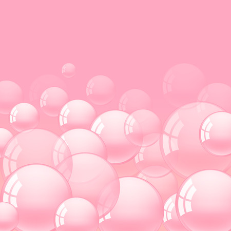 bubble gum: background with pink bubble gum vector illustration Illustration
