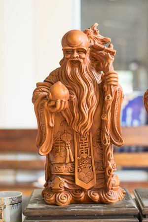 religious clothing: Statue chinese style in temple