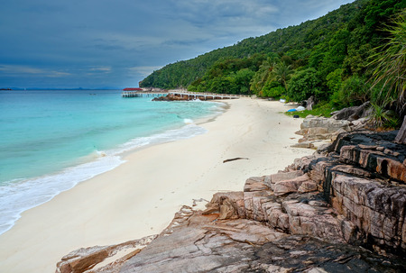 redang: Landscape of beautiful tropical beach at Redang island, Malaysia