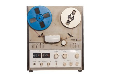 Retro Audio Tape Recorder photo