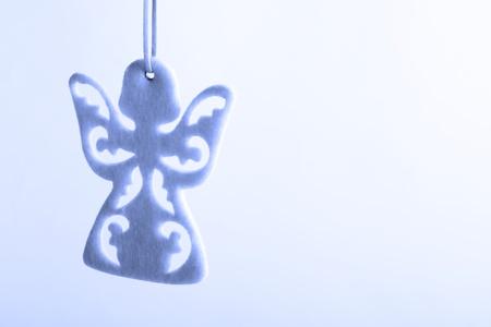 bondad: Ángel de la Navidad de un documento.
