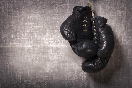 ボクシング グローブ 写真素材