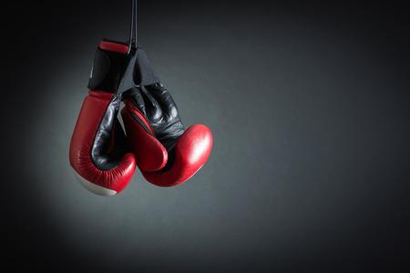 boxeador: guantes de boxeo