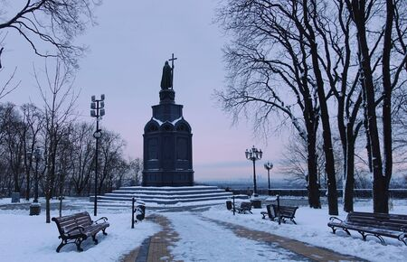 The monument to St. Vladimir in Kiev, 1853 by sculptor Klodt