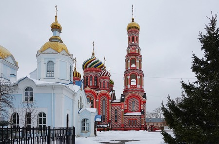Tambov Ascension Monastery, Winter frosty day