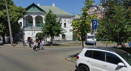 Kiev. Ukraine. may 7, 2018 House of Peter I in Kiev Редакционное