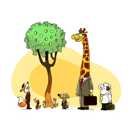 business tree Stock Vector - 16904995