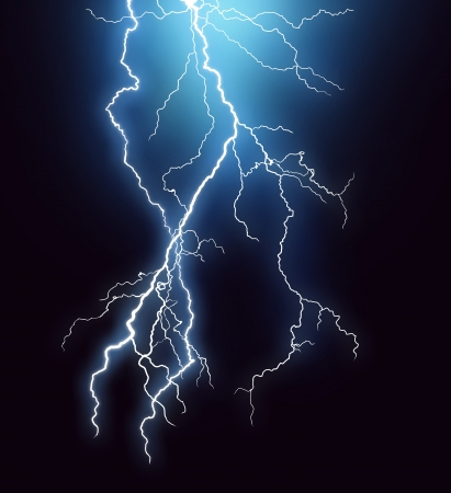 electric current: Lightning