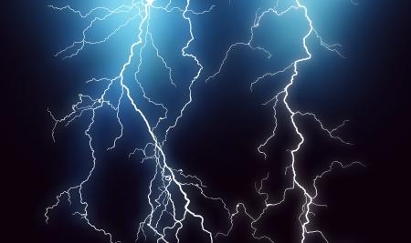 electric current: Lightning