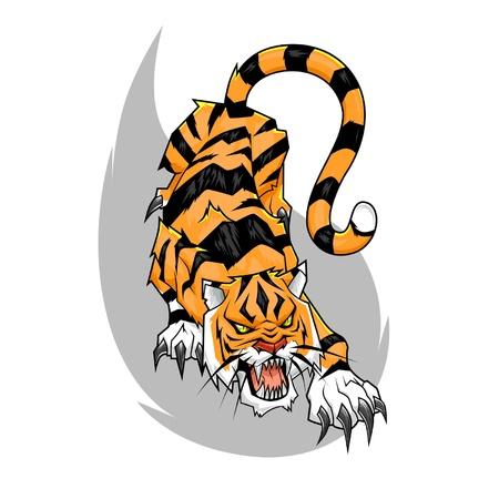 pounce: Tiger