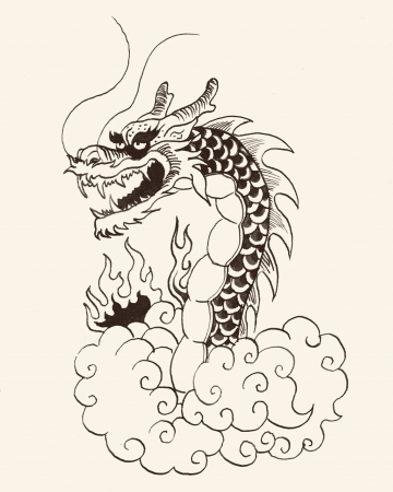 Chinese dragon Stock Photo - 18931073