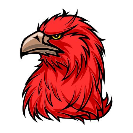 genteel: Red eagle Illustration
