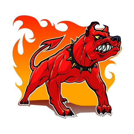 perro furioso: Perro del Infierno