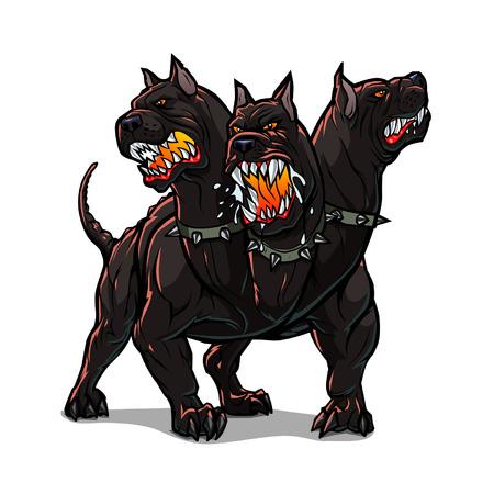 angry dog: Cerberus