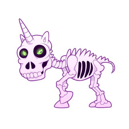 eenhoorn skelet