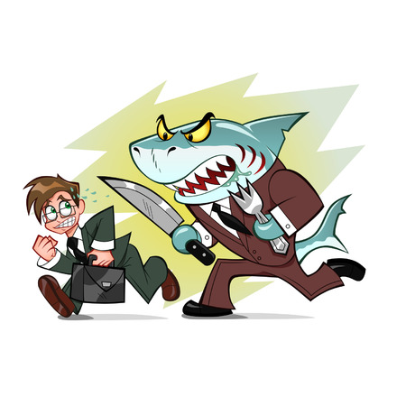 relentless: businessman and business shark