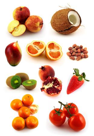 Natural food set  photo