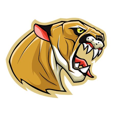 cougar: Puma head