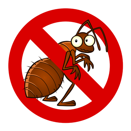 cartoon ant: anti ant sign