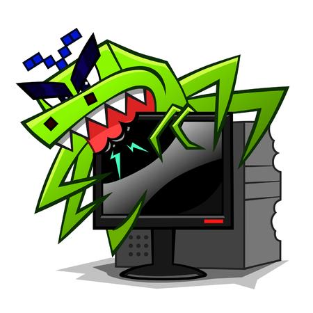 malicious software: computer virus